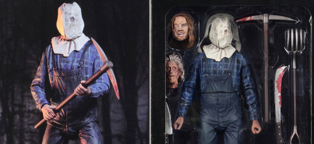 NECA Unmasks the Packaging for Their New 'Friday the 13th Part 2' Jason Voorhees Figure