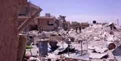 طائرات العدوان الروسي تواصل إجرامها بحق المدنيين في دير الزور