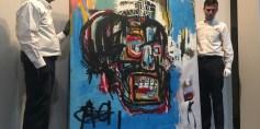 110 ملايين دولار.. ثمن لوحة للفنان باسكيا في مزاد بنيويورك