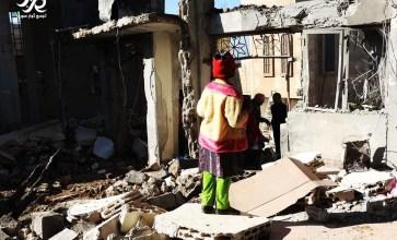 ذكريات حياة في منزل مدمر – الغنطو – ريف حمص الشمالي – عدسة المعتصم بالله صويص