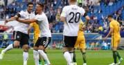 ألمانيا تستهل مشوارها بكأس القارات بالفوز على أستراليا