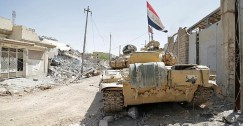 قوات عراقية تطرد داعش من حي الفاروق بالموصل