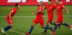 ألمانيا وتشيلي يصعدان إلى نصف نهائي كأس القارت