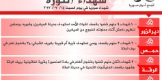 شهداء الثورة: السبت 15-07-2017