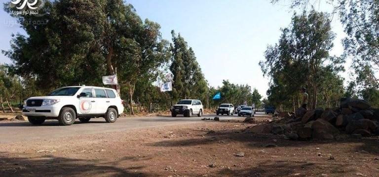 قافلة مساعدات أممية تصل إلى ريف حمص الشمالي