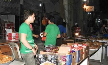 أجواء وقفة عيد الأضحى في مدينة الباب – عدسة حسن الأسمر