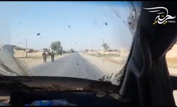 """جولة في بلدة ذيبان شرق دير الزور الخاضعة لسيطرة مليشيا """"قسد"""""""