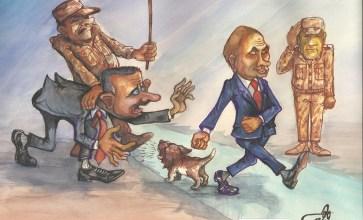 بوتين والأسد .. بروتوكول ذيل الكلب – ريشة وهيب الحسيني