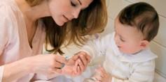 كيف تقلمين أظافر صغيرك بنجاح؟