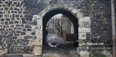 قلعة تلبيسة الأثرية شاهدة على إجرام الأسد