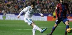 ليفانتي يحرج ريال مدريد ويتعادل معه 2/2 في الدوري الإسباني