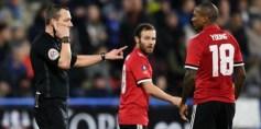 تقنية الفيديو تثير الجدل في مباراة هدرسفيلد ومانشستر يونايتد