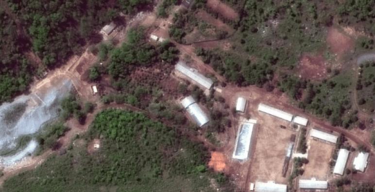كوريا الشمالية تدمر موقعاً لتجاربها النووية