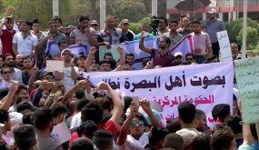 """الغارديان: تظاهرات البصرة تضع مستقبل العبادي على """"كف عفريت"""""""