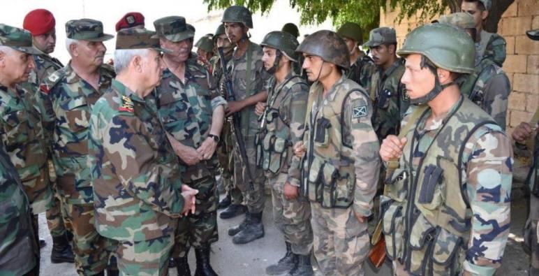 استمراراً للتنسيق المشترك .. وزير دفاع نظام الأسد يلتقي نظيره في الأردن