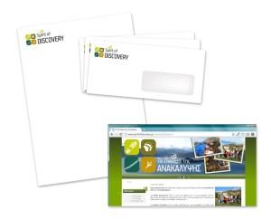 Entreprise d'éco-tourisme // Identité visuelle