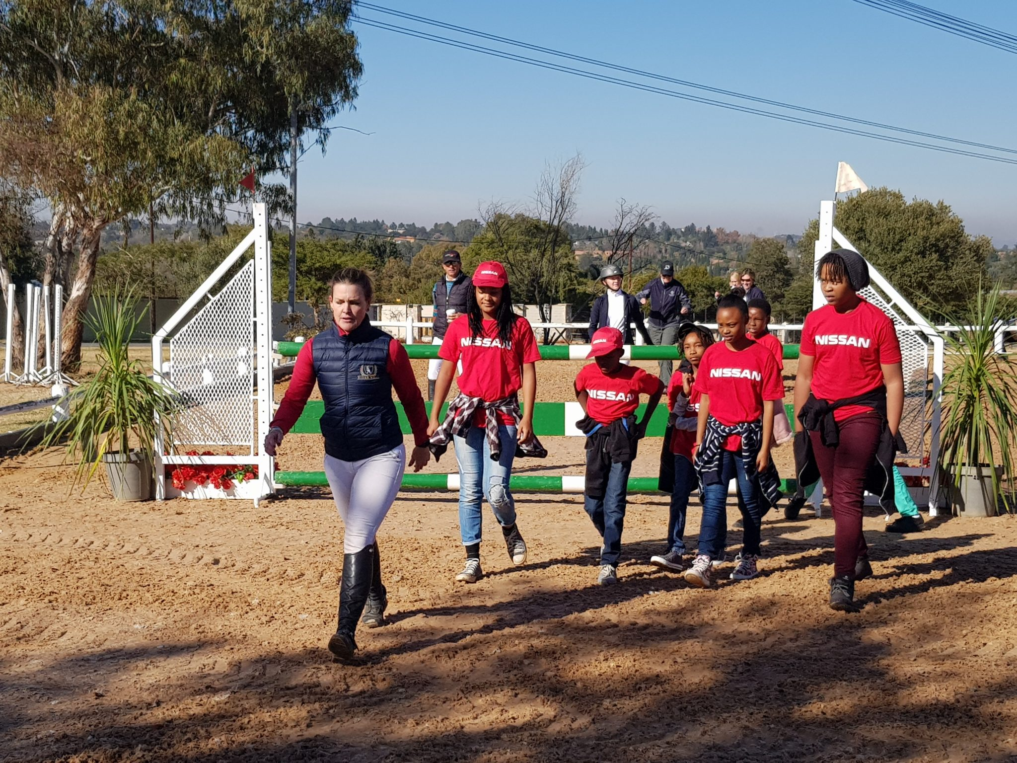 Team Nissan hosts THANDI children