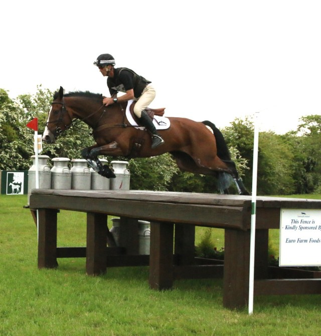 Andrew Nicholson on Jet Set at Tattersalls 3 Day Event 2015