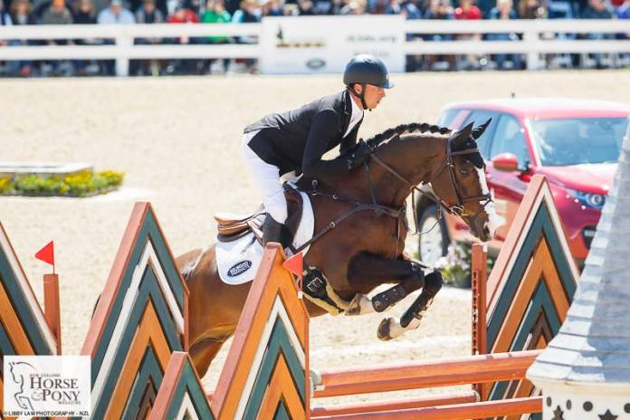 Wesko is a great showjumping but had one unlucky rail at last year's Rolex Kentucky to finish in second place