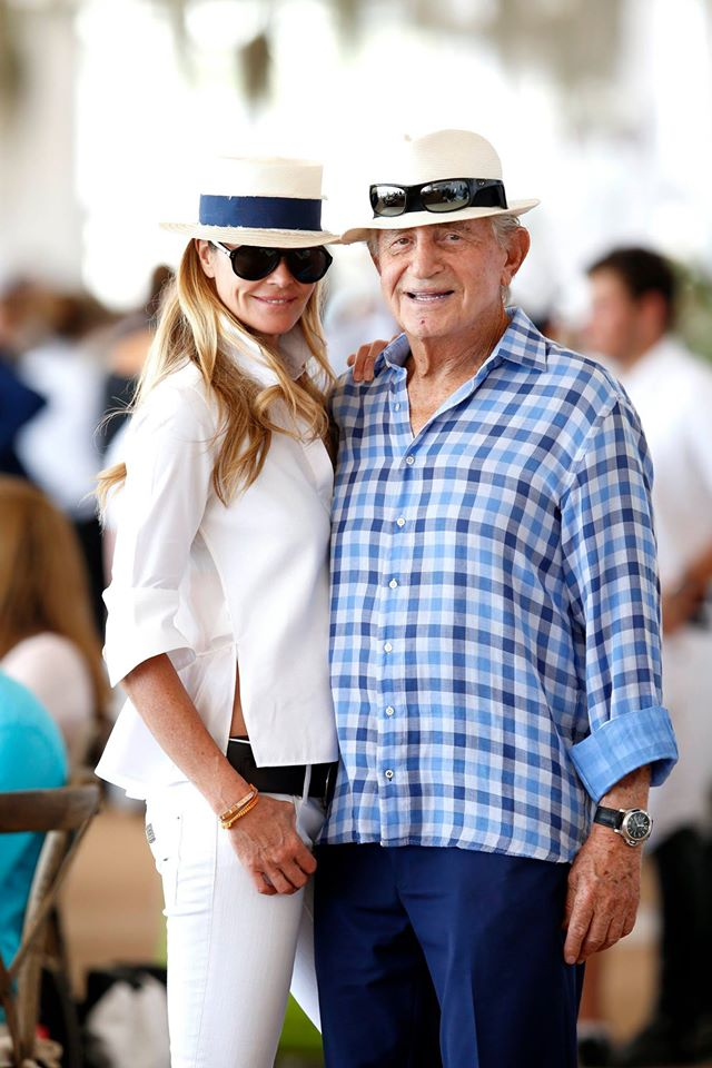 Elle McPherson & Don Soffer at LGCT of Miami Beach LGCT / Stefano Grasso