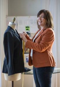 Jenny specialises in bespoke riding jackets made from beautiful wool fabrics (Image: Peter Meecham/ Fairfax)