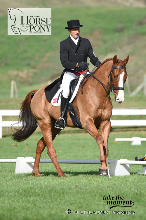 Brent Jury & SE Hedging sitting 2nd in the CCI 2* Championshi