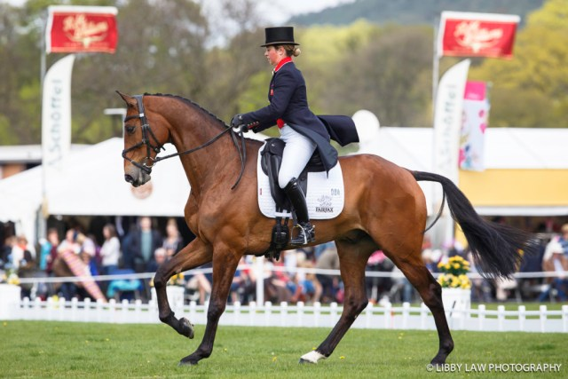 GBR-Kitty King (CEYLOR LAN) INTERIM-1ST: Event Rider Masters CIC3*: 2016 GBR-Dodson and Horrell Chatsworth International Horse Trial (Saturday 14 May) CREDIT: Libby Law COPYRIGHT: LIBBY LAW PHOTOGRAPHY