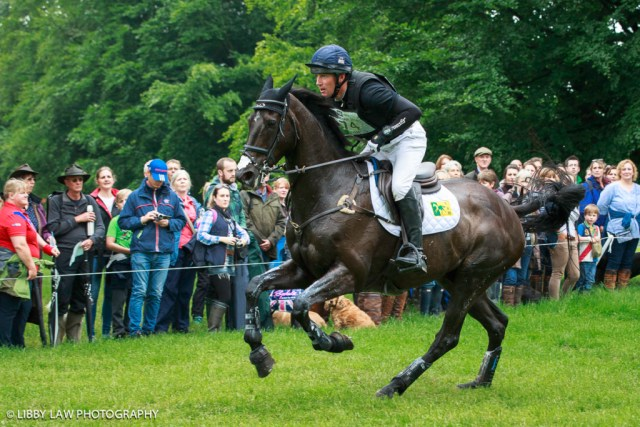 Oliver Townend on MHS King Joules in action. (Image: Libby Law).