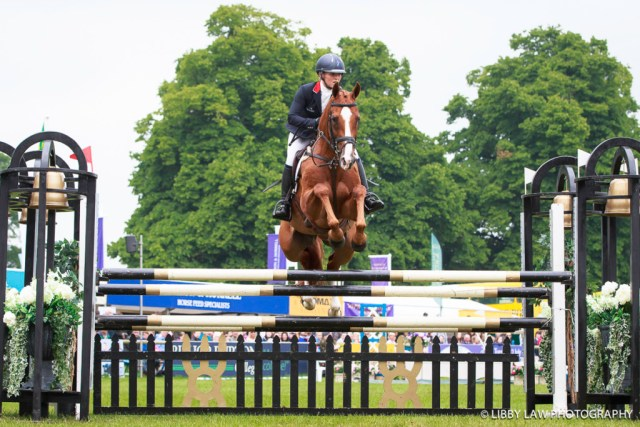 GBR-Holly Woodhead (DHI LUPISON) FINAL-8TH: BRITISH EQUESTRIAN TRADE ASSOCIATION CIC3* SHOWJUMPING: 2016 GBR-Equi-Trek Bramham International Horse Trial (Sunday 12 June) CREDIT: Libby Law COPYRIGHT: LIBBY LAW PHOTOGRAPHY