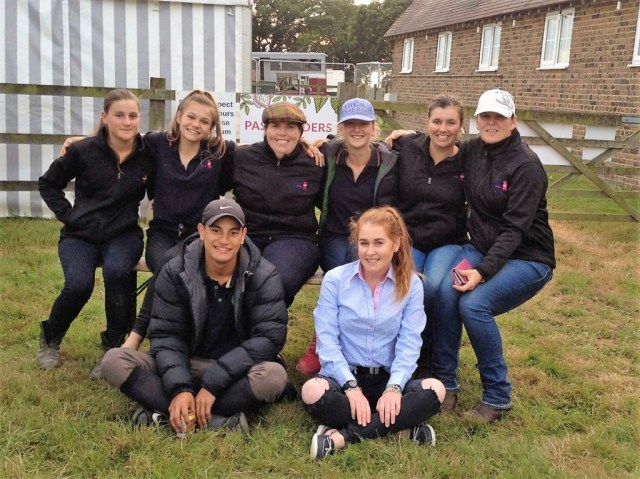 The New Zealand RAS Equestrian Youth Squad Hickstead