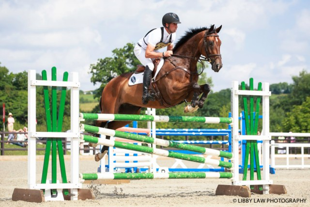 Tim Price thinks a lot of The Precious One - and with this jumping style you can see why! (Image: Libby Law)