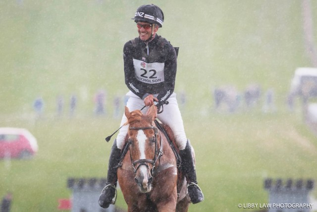 All smiles from the King of Barbury Castle. (Image: Libby Law)