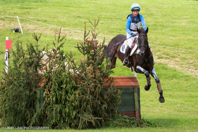 Nimble and fast; Jonelle Price and Classic Moet finished eighth