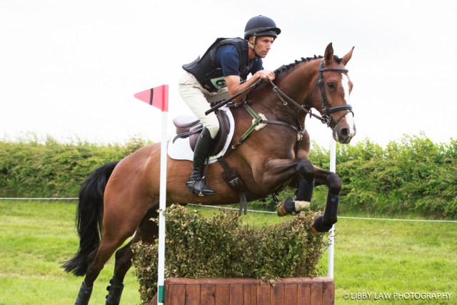 Neil Spratt on Emotion finished 17th in the Novice class. (Image: Libby Law)