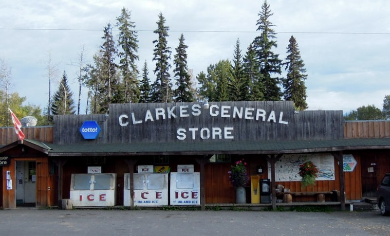 What s in horsefly clarke s general store horsefly realty for How much does it cost to buy a fishing license