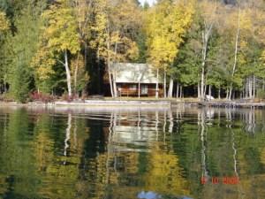 Horsefly Lake cottage
