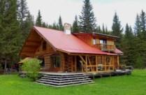Blockhaus, Kanada, zu verkaufen,