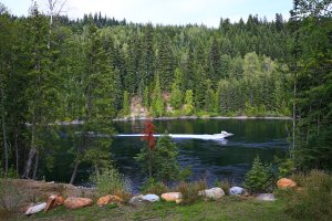 Waterfront Property on Quesnel Lake Ready for Building, Camping or RVs - 404 South Likely Road