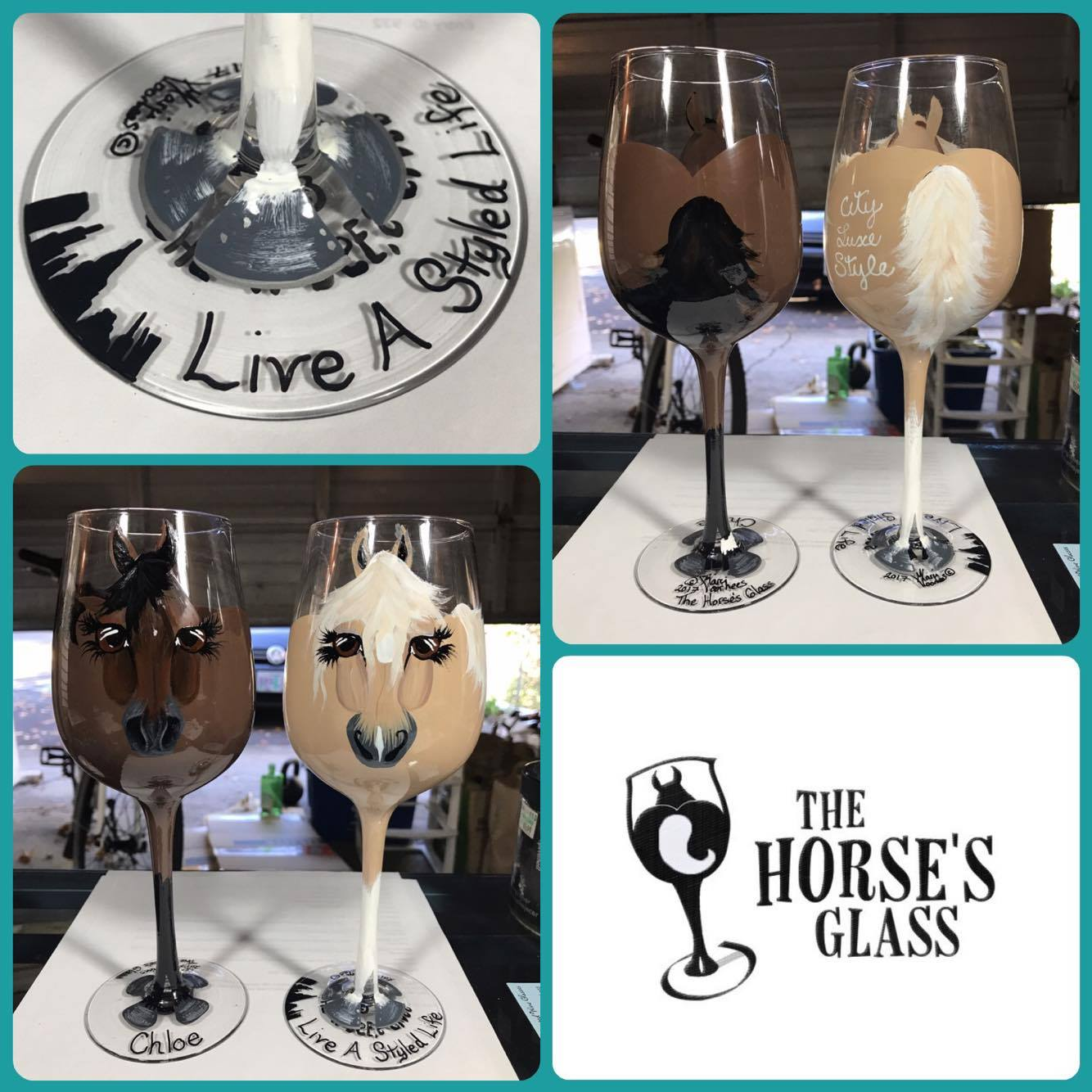 horse's glass