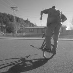 Making freestyle bike riding look easy--Artur Luckhaus
