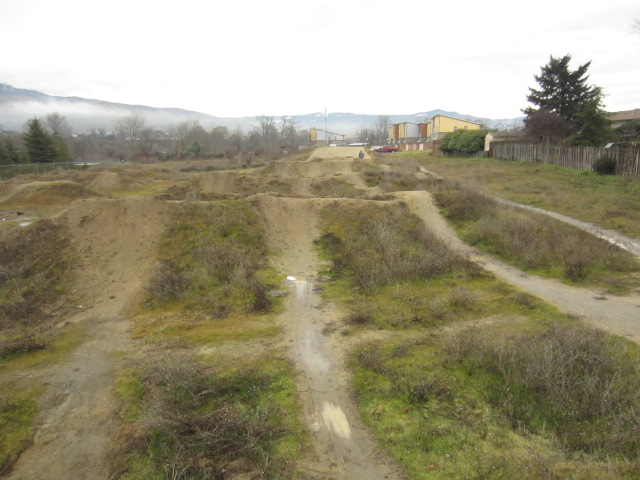 Ashland dirt jump park.