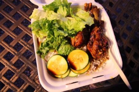 Ayam Goreng is Indonesian pan-fried chicken.