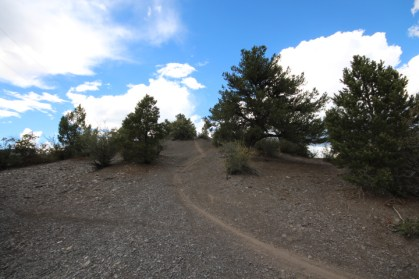This is a segment of the Falcon Trail that was marked for closure by Durango's Assistant Community Development Director Kevin Hall due to his classification of it as a trespass.