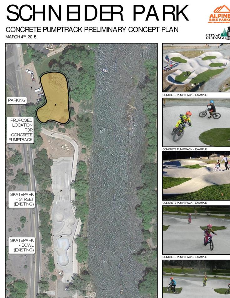 This conceptual design for a bike park was created by Alpine Bike Parks, a full-service design/build contractor out of British Columbia.