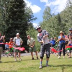 Grand opening of Divinity Downhill Flow Trail draws hundreds of mountain bikers. Video!