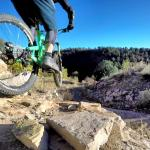 GoPro movie: Raider Ridge to Medicine Trail to Snake Charmer rock quarry