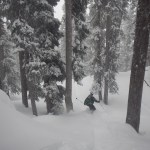 Splitboarding in the San Juan Mountains with a friend on 1/31/2016, GoPro video