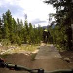 Downhilling Rainmaker Trail, No Quarter, and Cruel and Unusual at Trestle Bike Park, GoPro