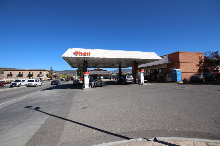 This Shell station on the corner of College Ave and Camino Del Rio in Durango sells fuel from Western Refining.