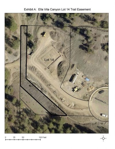 Trail easement for Robert Middleton and the City of Durango.